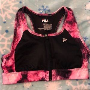 Women's FILA SPORT® Zip Front Medium-Impact Sports